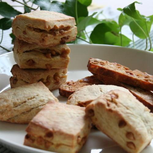自家製酵母で2種の焼き菓子!キャラメルスコーン&グラノーラビスコッティ