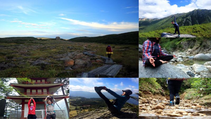 毎月1回土日開催!楽しく鍛えて山登りが楽になるヨガトレ教室