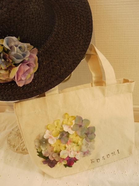 お花のミニトートバック
