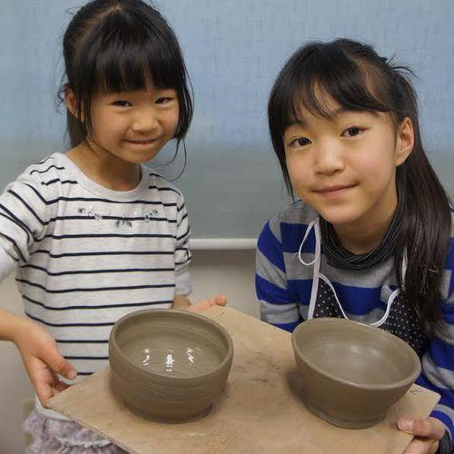こども陶芸教室☆体験入学