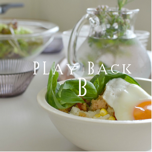 Playback Maggoo 2018年8月(B)ガパオライス ヤムウンセン ほか2品
