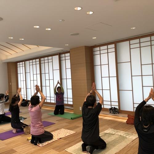 キャンサーヨガ&ピラティス教室 1月20日(日)10:15〜11:45