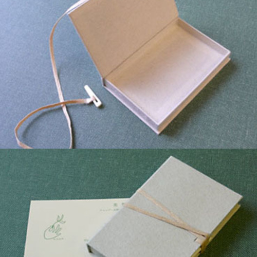 【紙博 in 京都】美篶堂+本づくり協会「手漉き和紙を使った名刺サイズの小箱をつくろう」