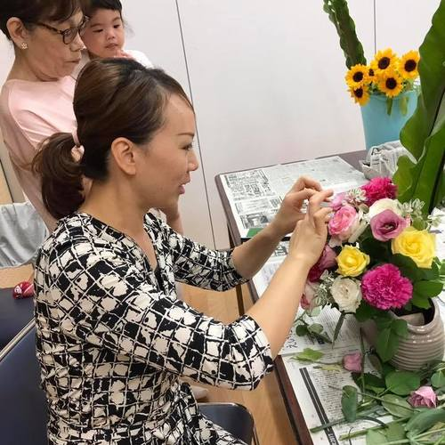 【毎週水曜日開催】flower & cooking