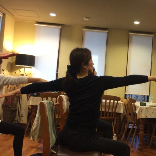 【3月27日(日)13:45〜14:45】 椅子でもどこでもできるヨガ 〜横須賀中央〜 参加費:¥1500