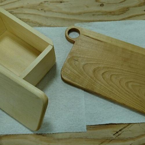 W28 バターケース&カットボード