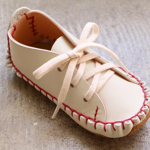 【もみじ市2017】uzura「赤ちゃんの靴をつくりましょう!(白)」