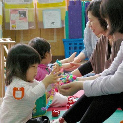 地域子育て支援センターかみさくのべ「子育て支援センター体験ツアー」