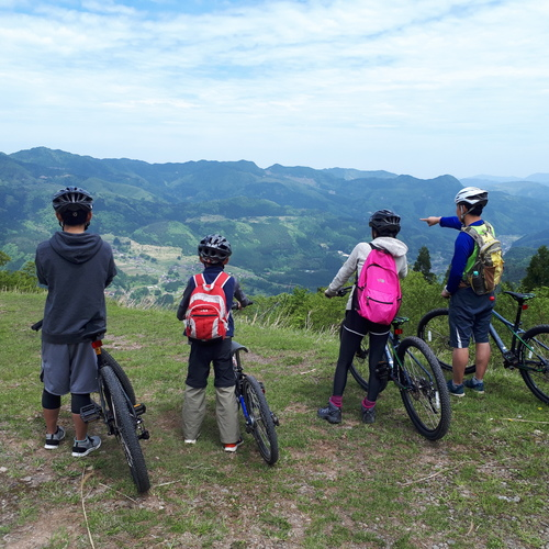 Downhill cycling to Wagyu hometown - PRIVATE plan