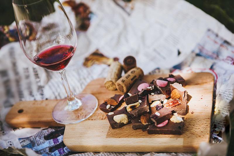 ショコラに合わせるワイン色々