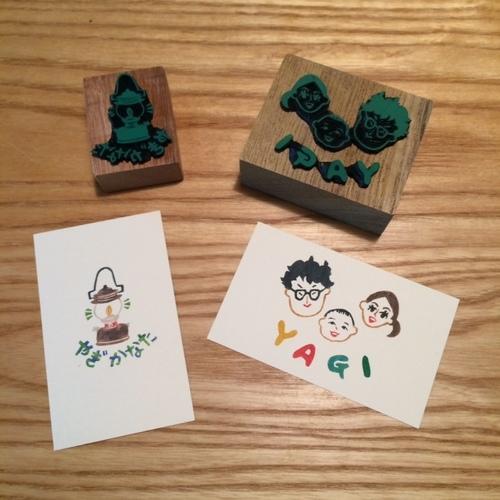 『norioはんこオーダー会』at 手紙舎鎌倉店(8/24-25)