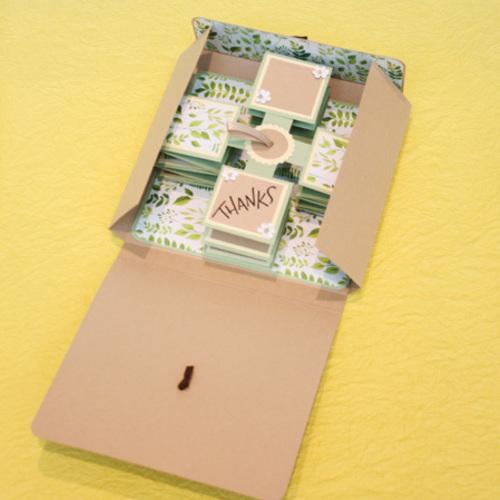 NEW!!【パピエリウムクラフト】Pull Up Card -Thanks- 4月14日(日)・25日(木)