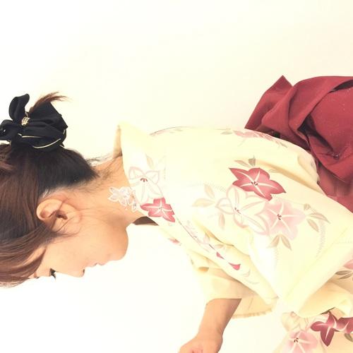 【緊急企画】今日、浴衣着たいアナタに朗報!一回完結型 浴衣の着付け教室行います!