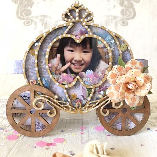 キラキラ輝くシェイカーアルバム Pumpkin carriage of magic
