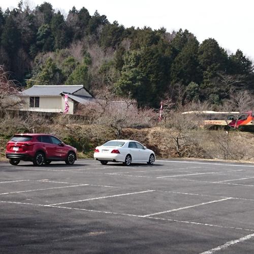 ロマントピア月ヶ瀬観光バス駐車場
