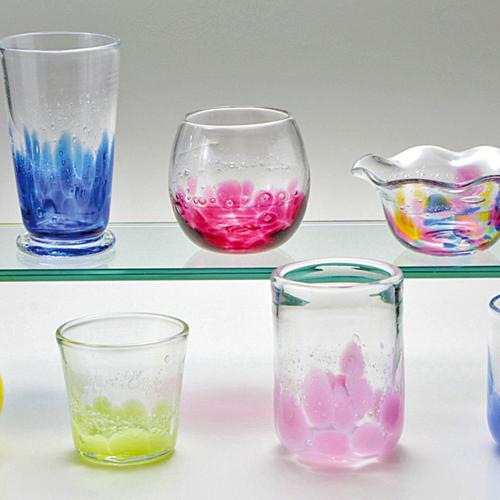 吹きガラス体験 (※吹きガラス体験は、お電話にて直接ご予約下さい。)