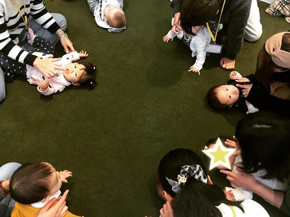 【0歳クラス】大好評!!春から始めよう0-2歳親子リトミック♪(全6回)