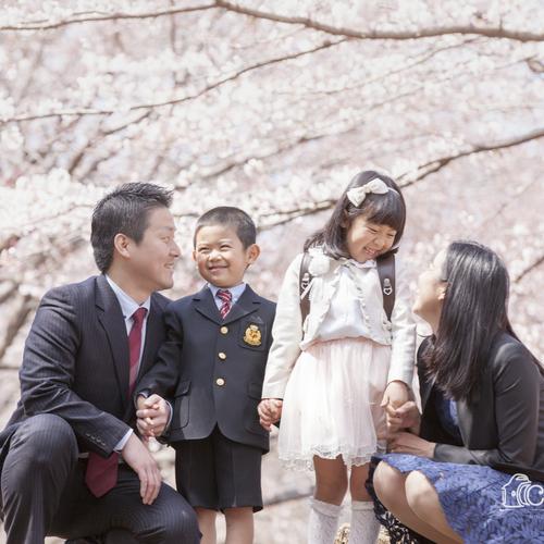 *こどもと家族のお写真撮影会* ⑤4月2日(月)さいたま市西区 桜並木の土手