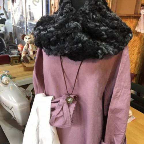 11月19日 コレクションカフェ 極太毛糸で編むジャンボ編み ニットカフェ