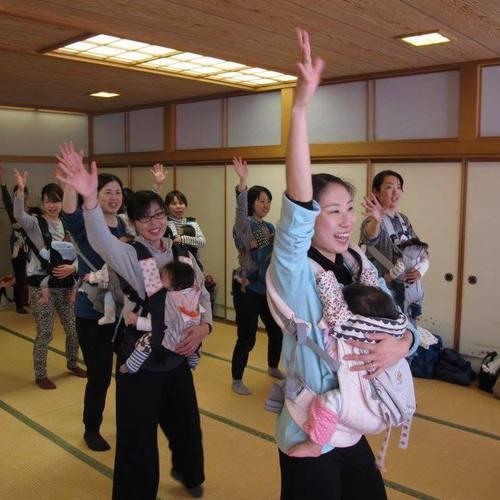 【新発田】イクネスしばた『抱っこdeダンス&さらし抱っこ体験』