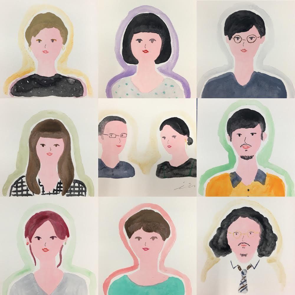 【イラストレーション・フェスティバル】いとうひでみさんに似顔絵とオーラを描いてもらおう!(いとうひでみさんブース)