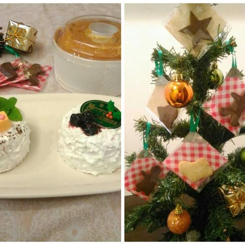 【米粉のおやつ教室】 シフォンケーキとクッキー