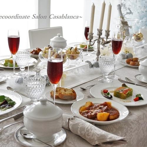 【4月限定】おもてなし料理&テーブルコーディネート