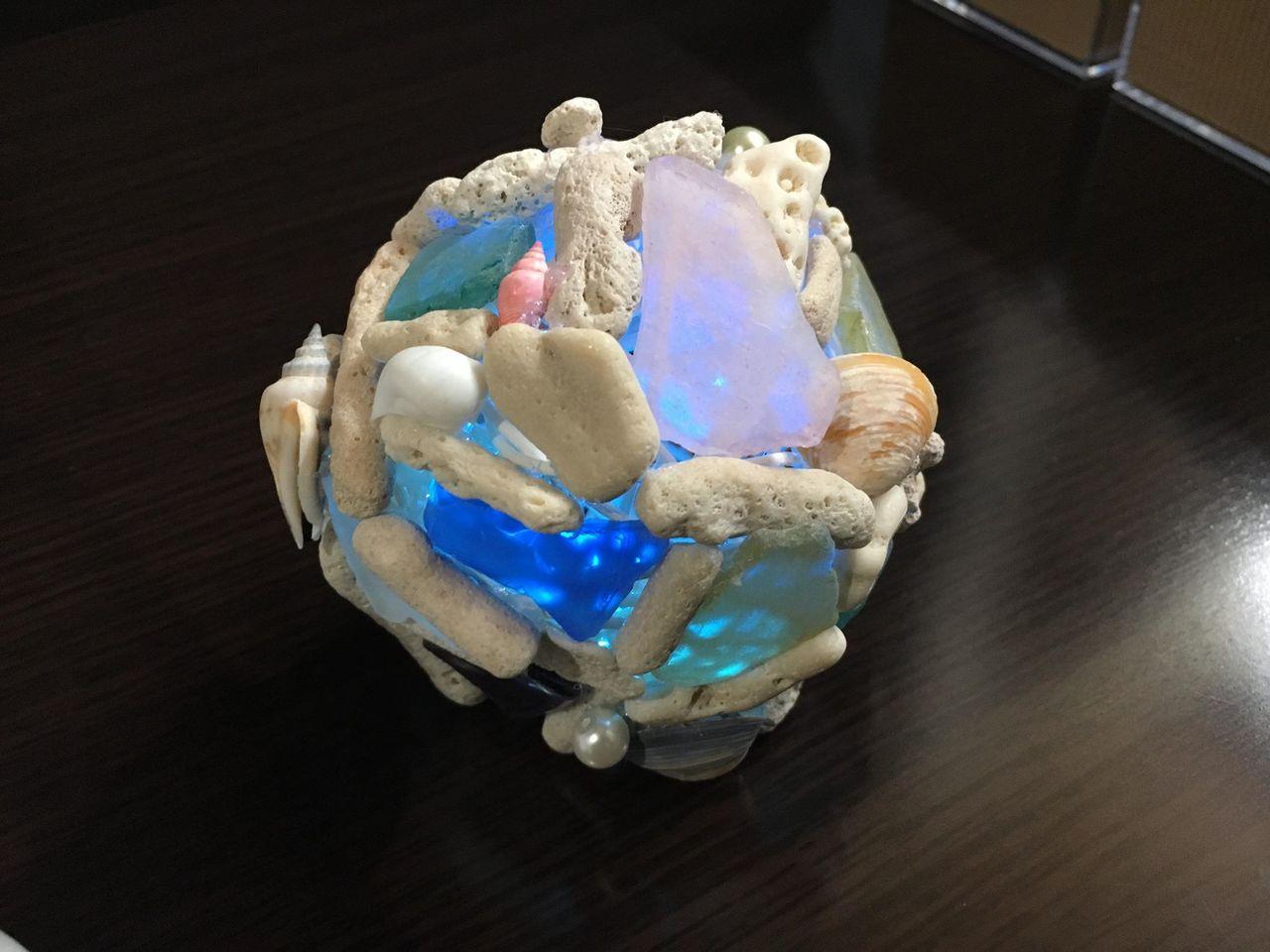 7/16(祝・海の日)珊瑚で作る「 オーシャンボールランプ づくり」@横浜駅西口(ムービル)