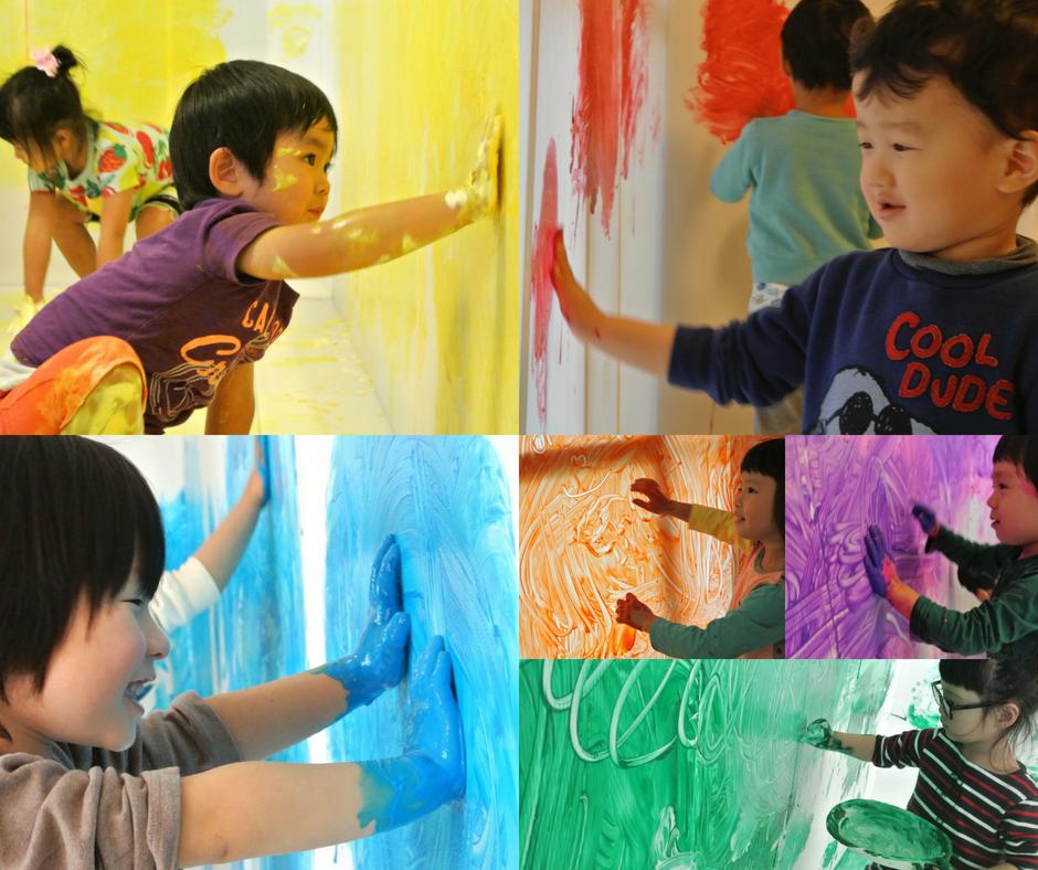 [3歳-小学生]全身でペイント!FREELY☆Animals(動物)7月