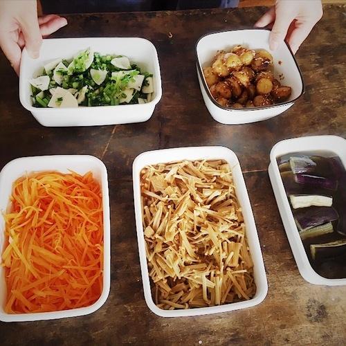 11月講座「産前産後の食卓レシピ」料理実習vol.1