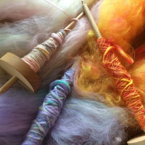 いろいろitoasobiさん糸紡ぎワークショップ