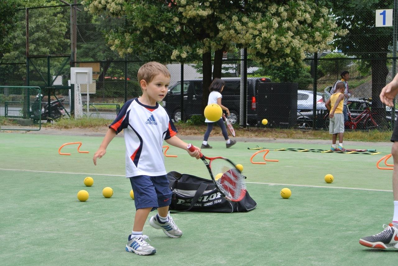 [4-6歳]ENJOY TENNIS