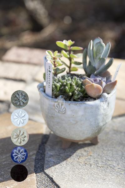 【5月】『陶器で作る三つ足の植木鉢』 講師:外山 節子