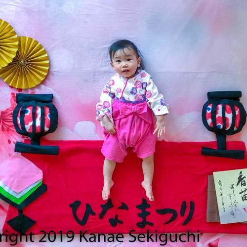 2月25日(月)ひな祭り おひるねアート撮影会《新小岩》