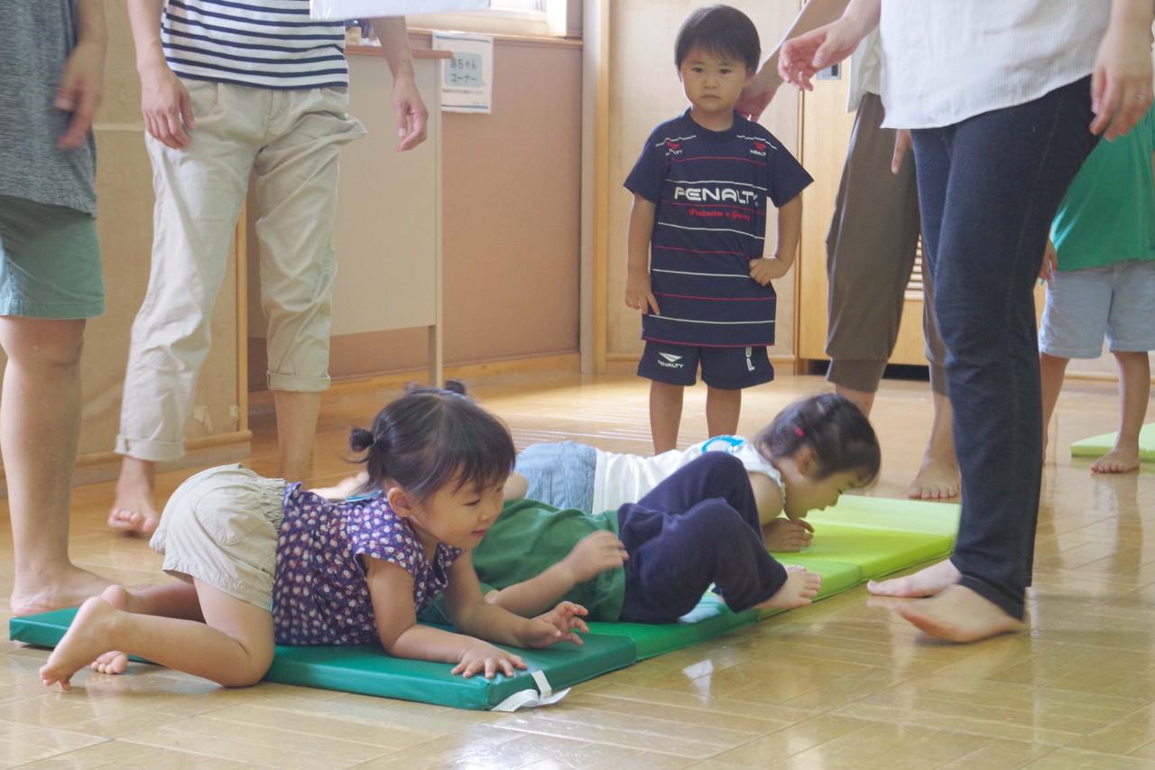 【平成30年度高津Bコース】さっちーと一緒にのびのび親子体操