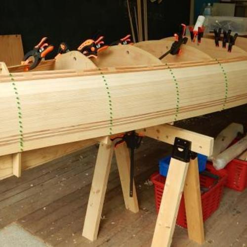 『工房利用』 自分自身でMyカナディアンカヌーを作る