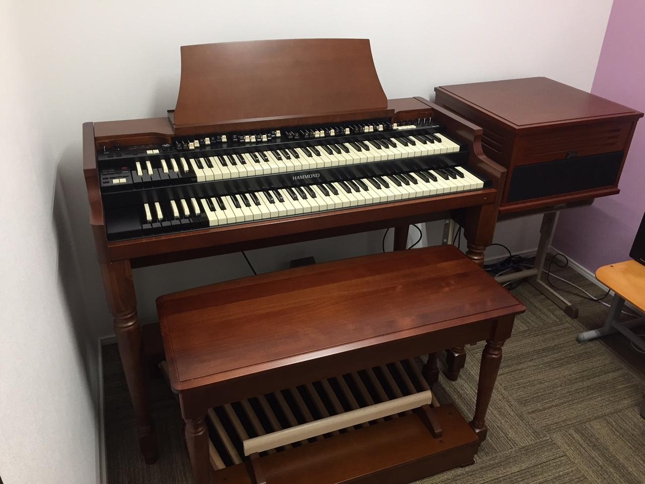 Hammond Organ レッスン