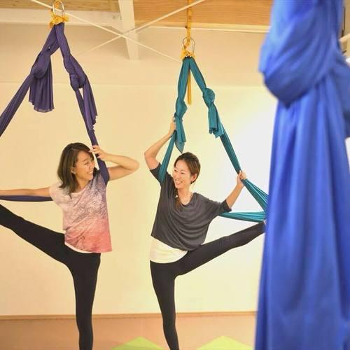 初めての空中yoga☆