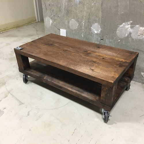 W-45  キャスターローテーブル