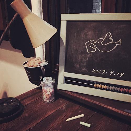 【5/5(金・祝)丸林さんちの親子ワークショップ「黒板を作ろう!」at 本とコーヒーtegamisha】