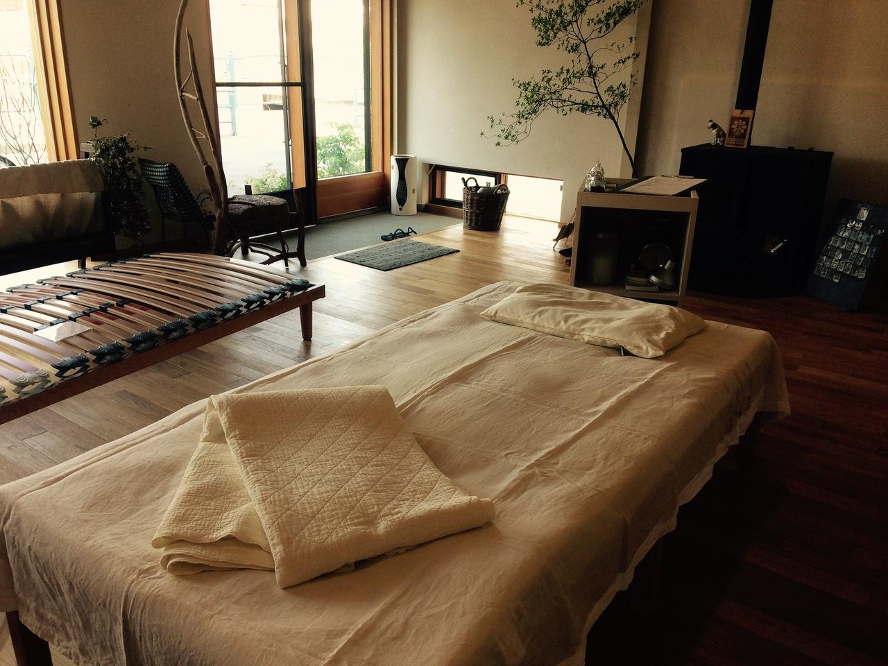 オーダー枕・敷きの寝具 試し寝と調整