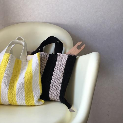 裂き織りA4バッグ