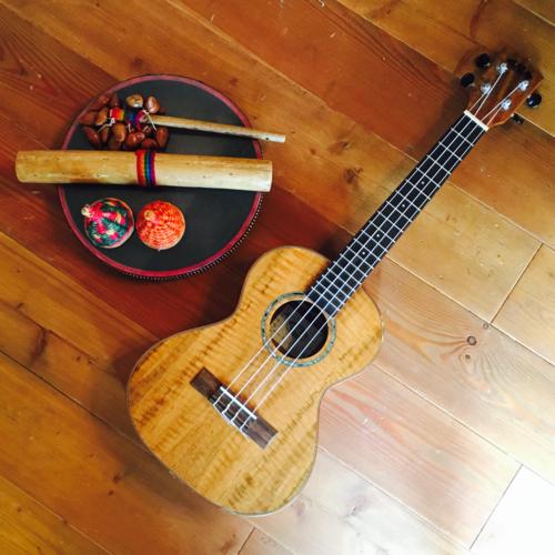 子どもウクレレクラス〜民族楽器