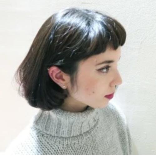 hair Botão button