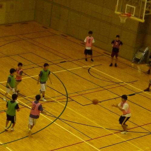 ④バスケットボールを楽しもう!