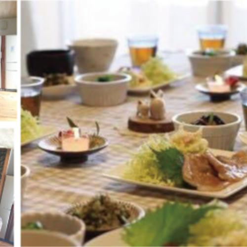 「一汁三菜きちんと和食」レッスン♪ in木のキッチン