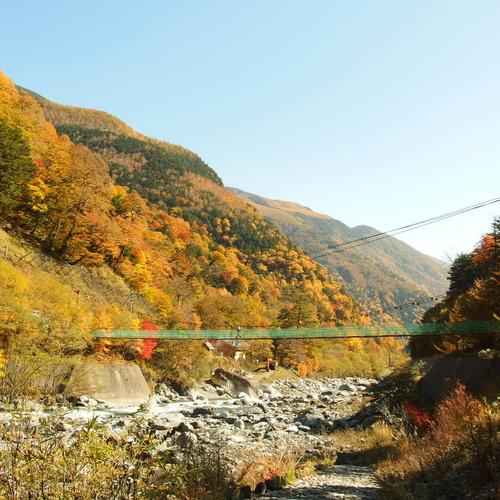 白鳳渓谷ぐるり紅葉満喫ツアー(日帰り)