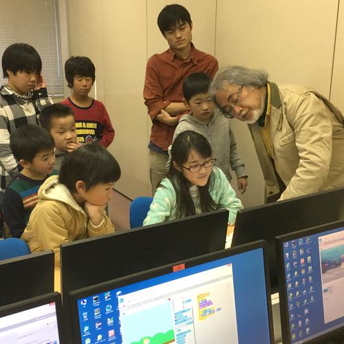 プログラミング教室(立正大学熊谷キャンパス)