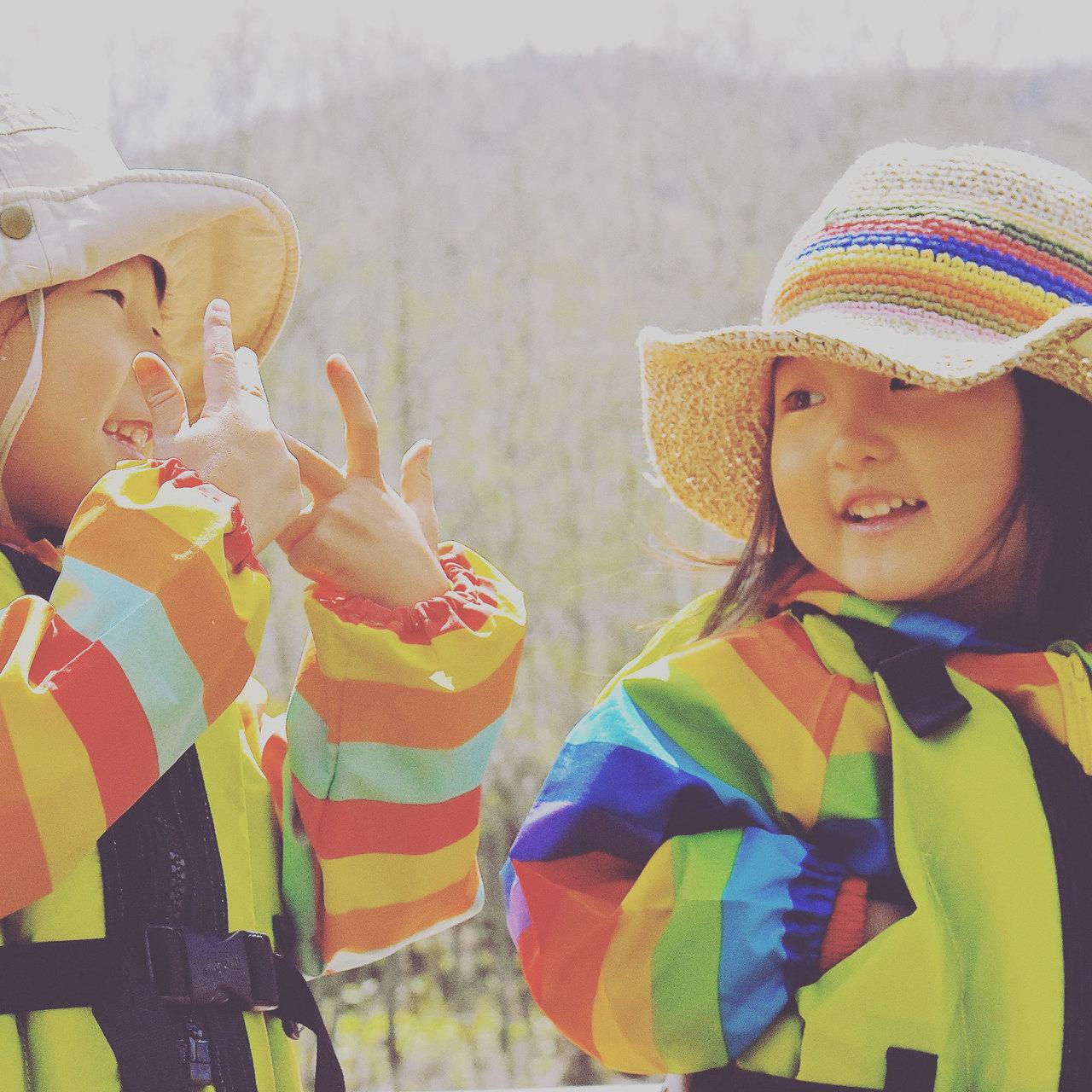 北の春の川ピクニック 〜・2歳から出来る春の恵みやさしいラフティング・〜