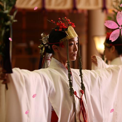 さくら参宮 新春特別祈祷(太々神楽)のお申込み